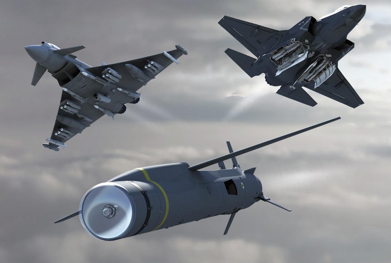 SPEAR em Typhoon e F-35 - imagem MBDA