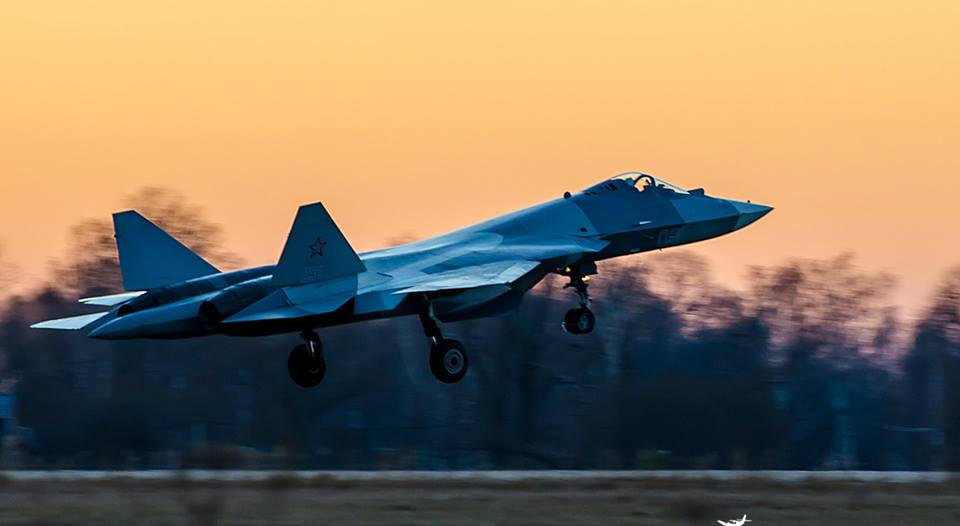 Sukhoi T-50 PAK FA - foto 2 UAC