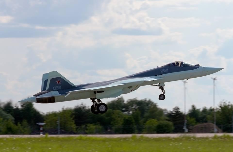 Sukhoi T-50 PAK FA 058 - foto UAC