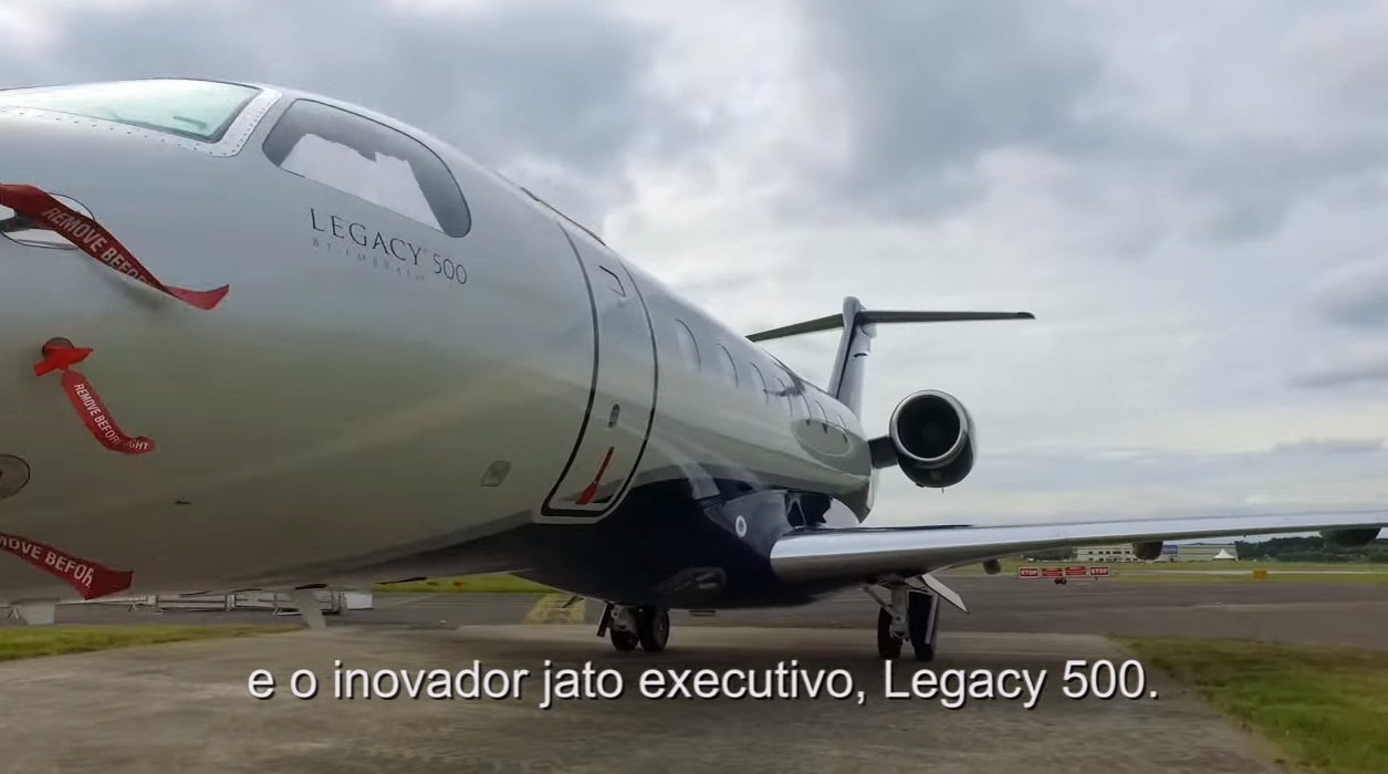 cena 7 video Embraer Farnborough 2016