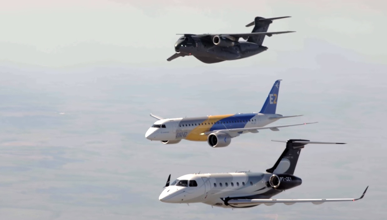 cena video Embraer Farnborough 2016