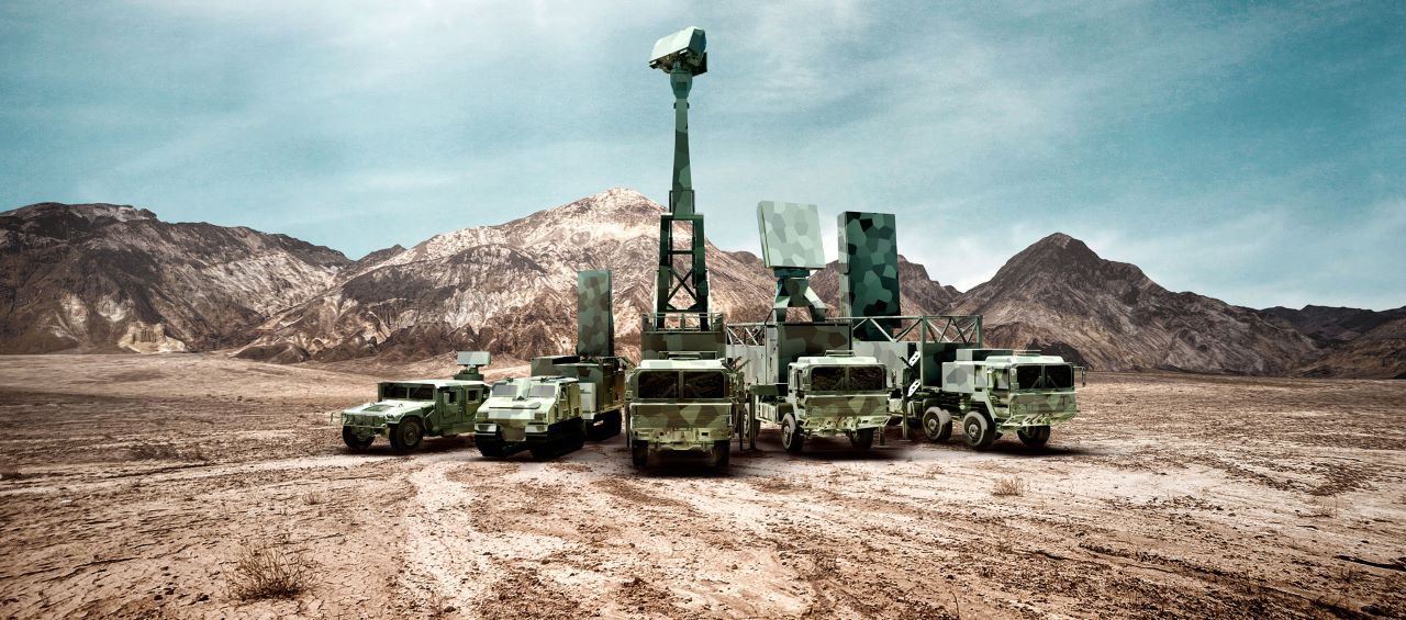 radares Giraffe - imagem Saab
