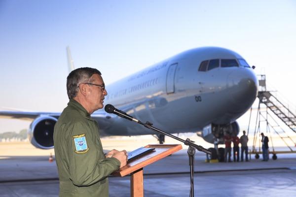 recebimento Boeing 767-300ER - FAB 2900 - foto FAB
