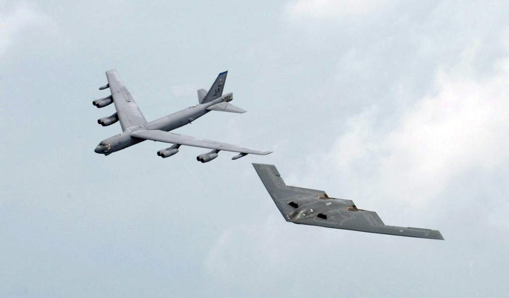B-52 e B-2
