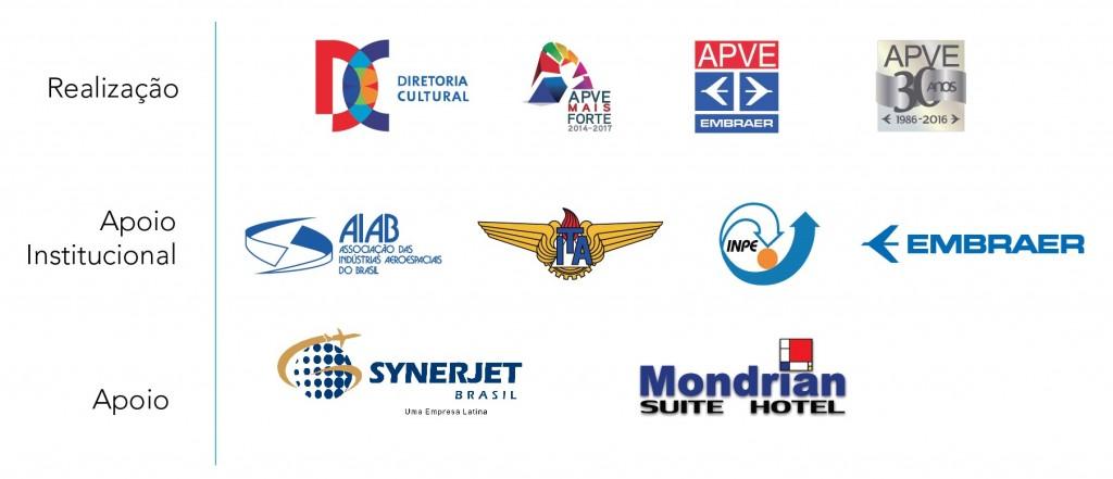 Encontro Escritores e Jornalistas de Aviação - Patrocinadores