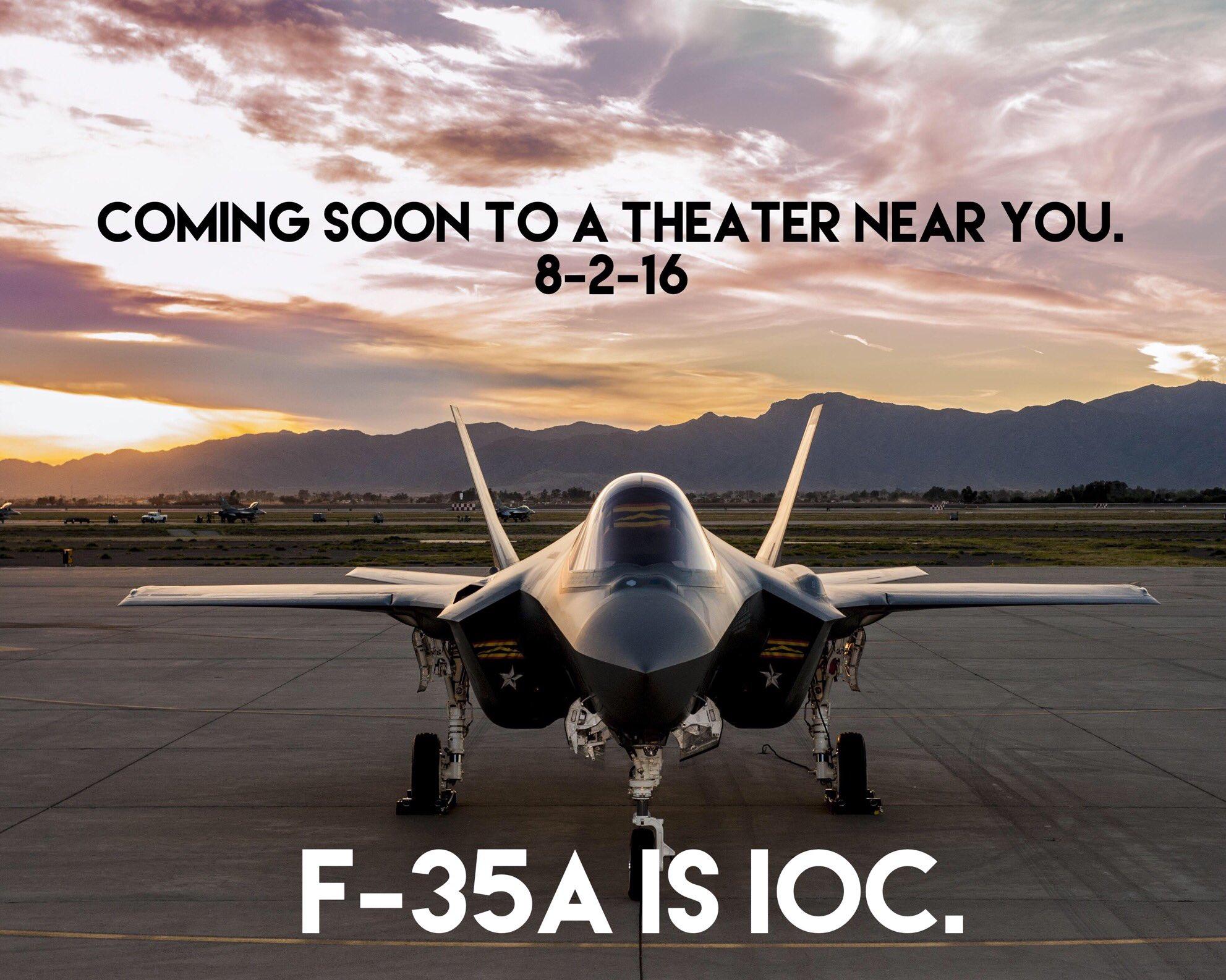 F-35 IOC