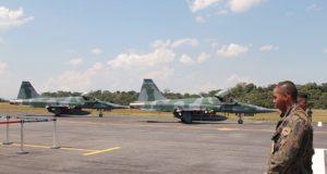 F-5M da FAB baseados em Manaus
