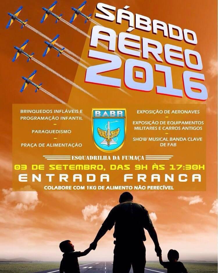 Sábado Aéreo 2016 - Brasília