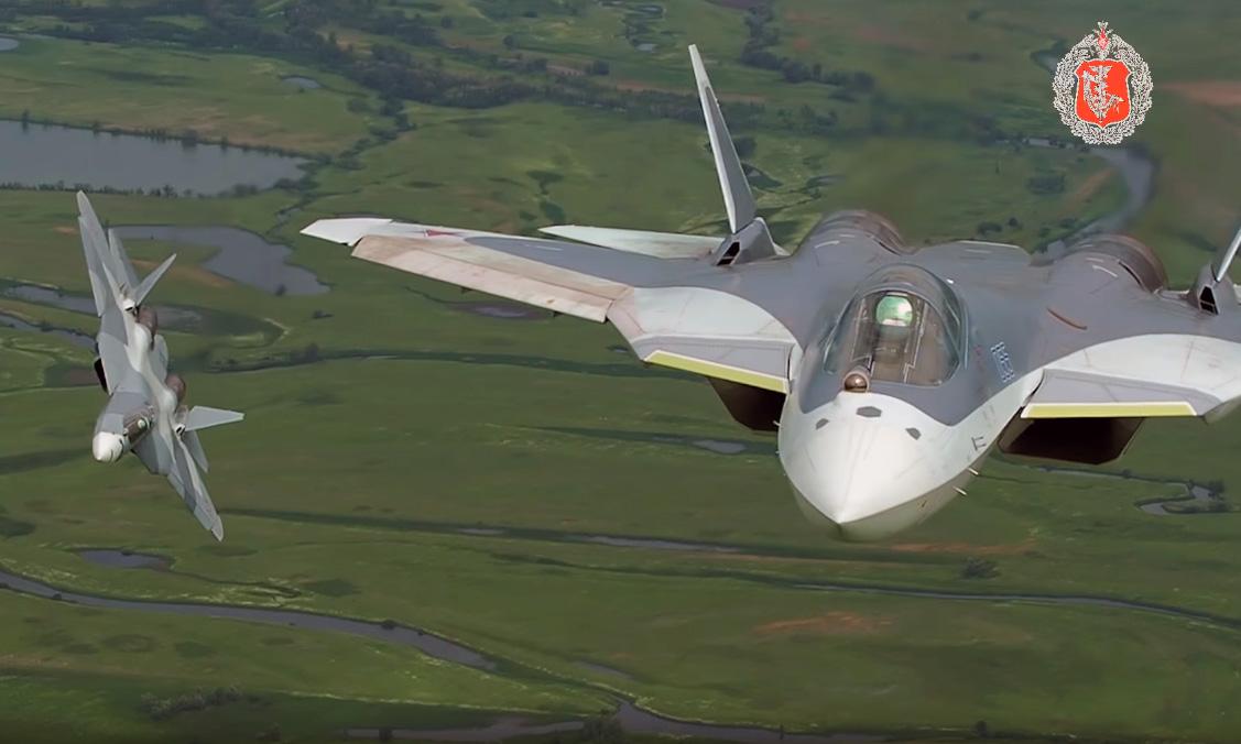 Video Forças Aeroespaciais Russas
