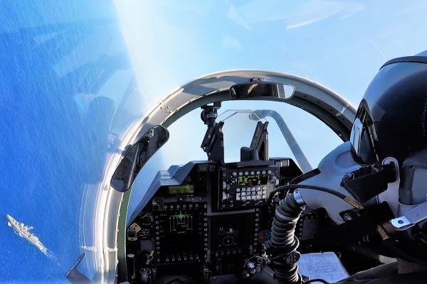 A-1M em manobra