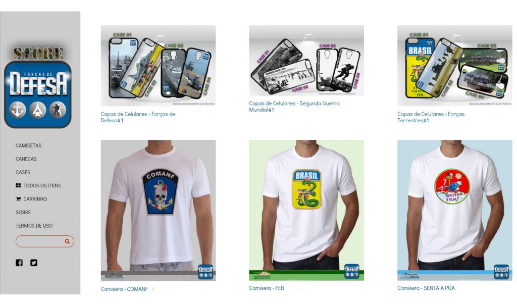 Defesa Store - www.defesastore.com.br