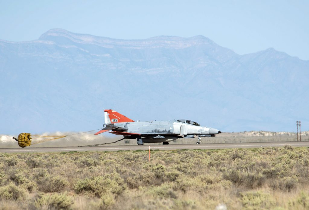 QF-4 last unmanned mission