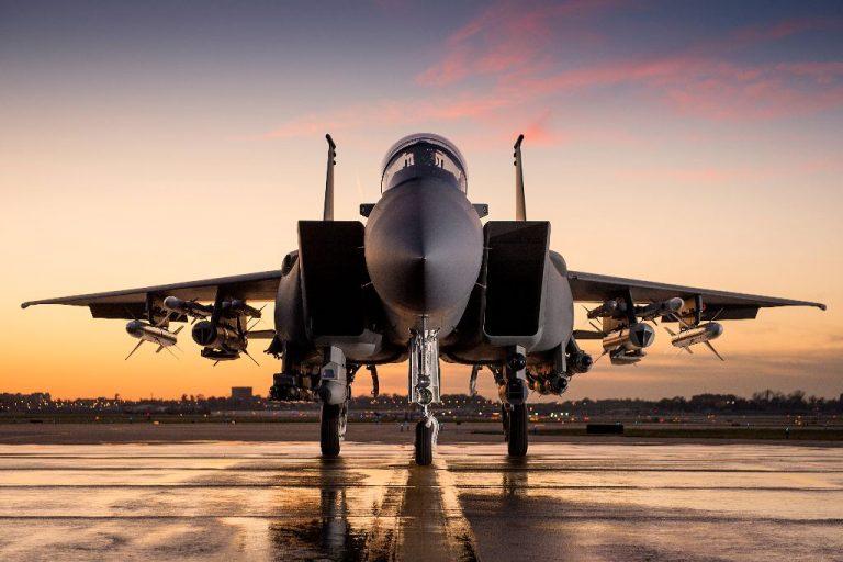 O Advanced F-15 permite a instalação das estações de armas 1 e 9 nas partes mais externas das asas