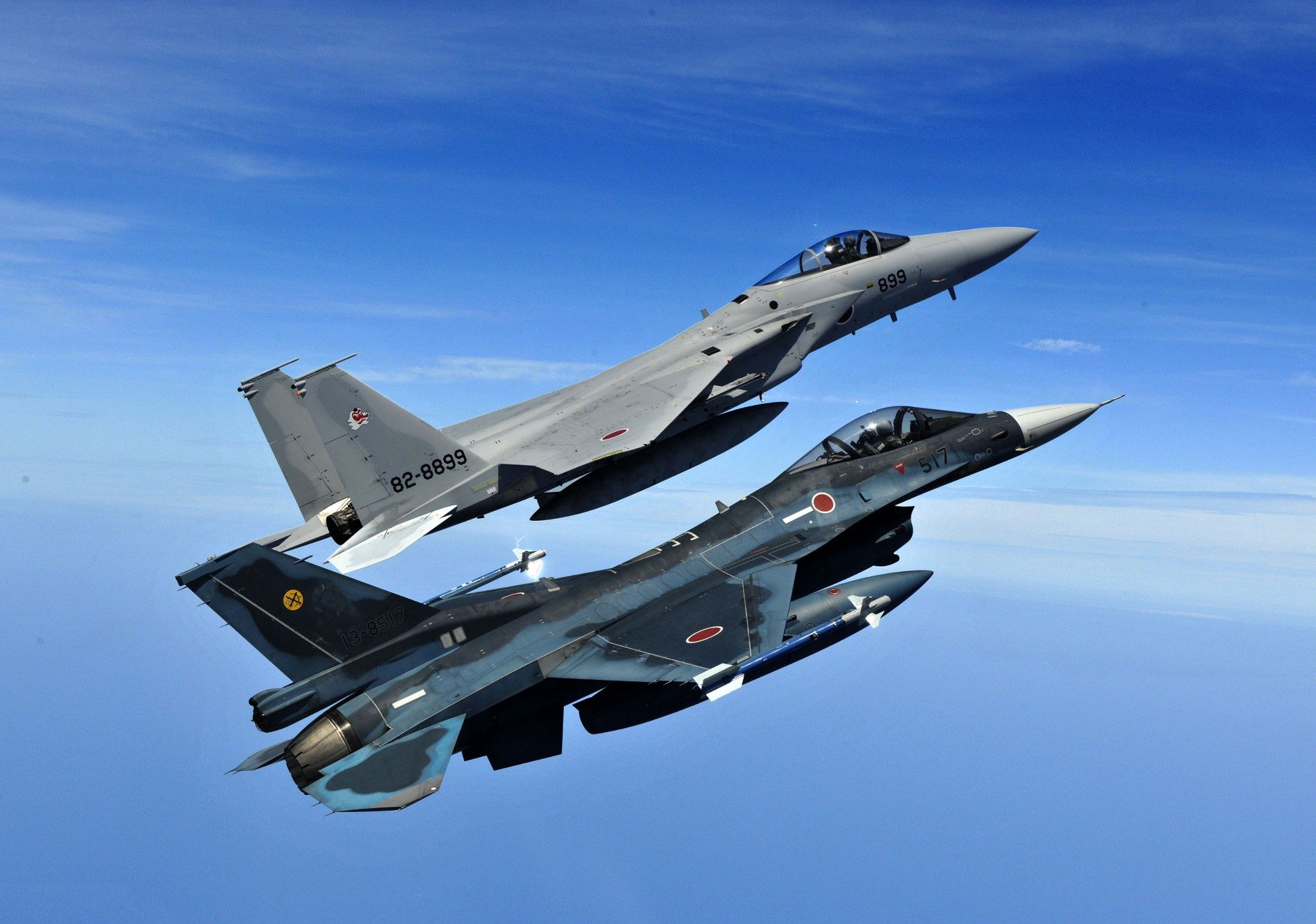 Mitsubishi F-15J e F-2