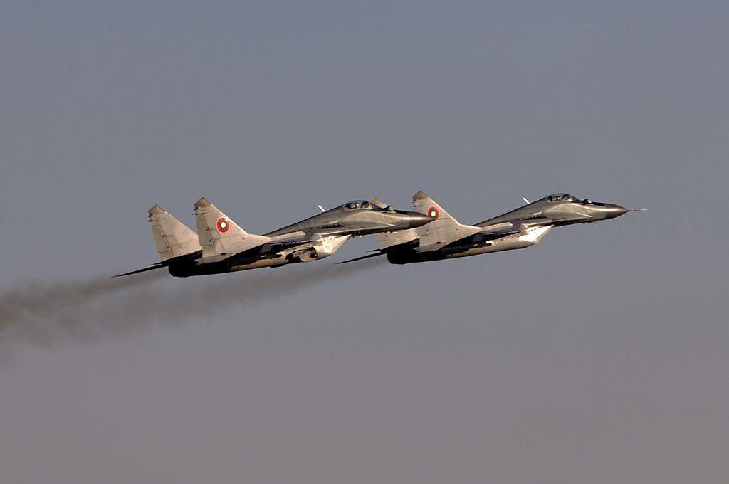MiG-29s da Bulgária