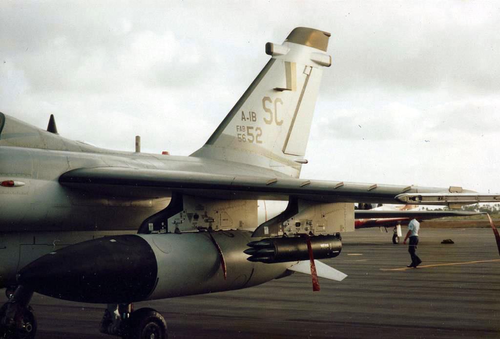 Armas do A-1B