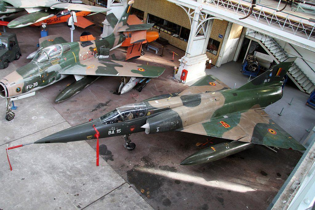 Dassault-Breguet Mirage 5BA - Foto: Laurent Heyligen