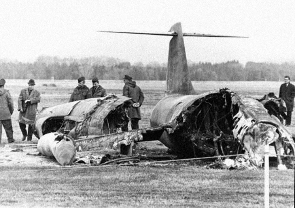F-104 acidentado