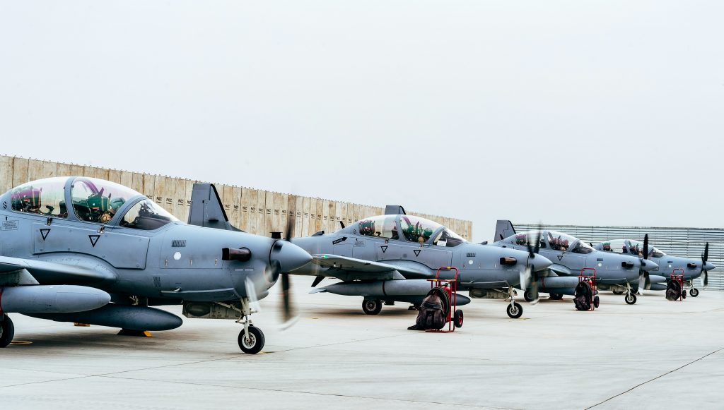 A-29 Super Tucanos do Afeganistão