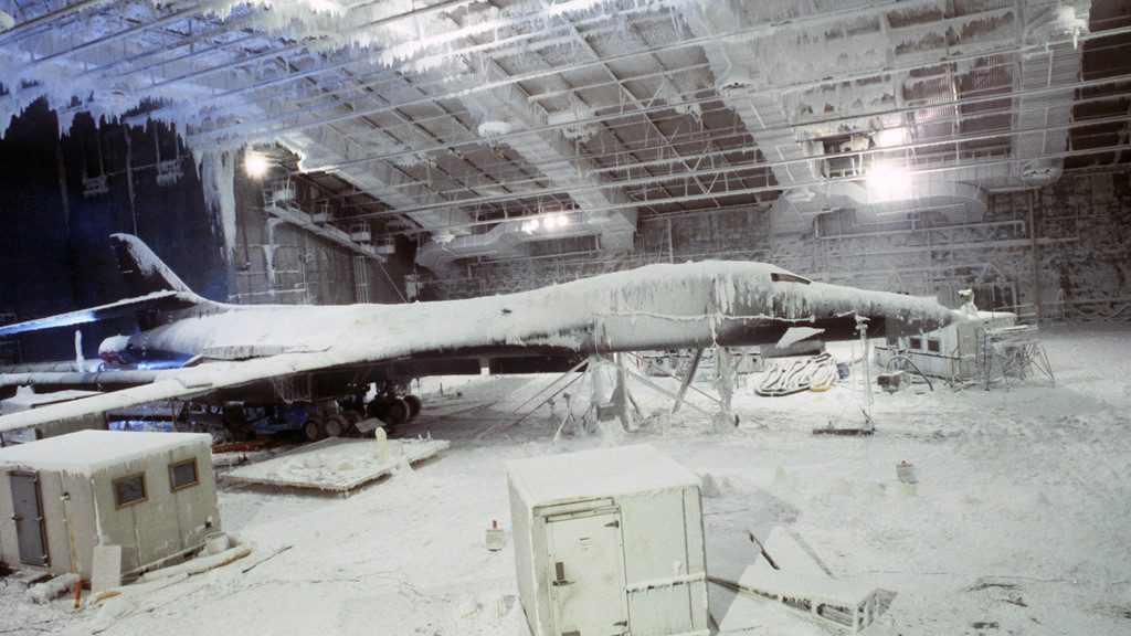 B-1 at the McKinley Climactic Laboratory
