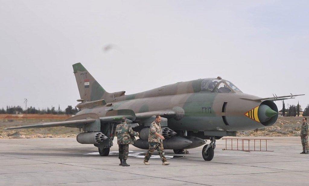 Su-22 Fitter da Síria