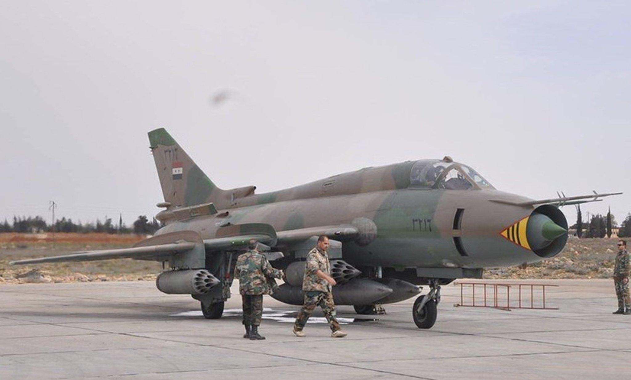 Resultado de imagem para su--22 sírio
