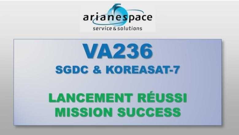 ariane - missãoVA236