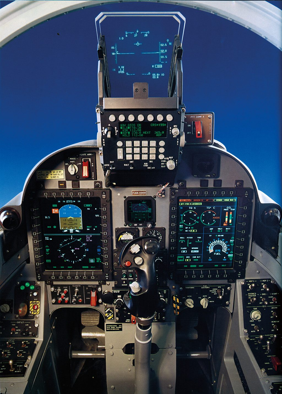 Cockpit do A-29