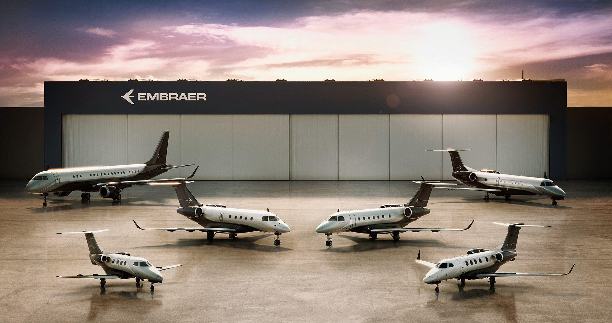 Jatos executivos da Embraer