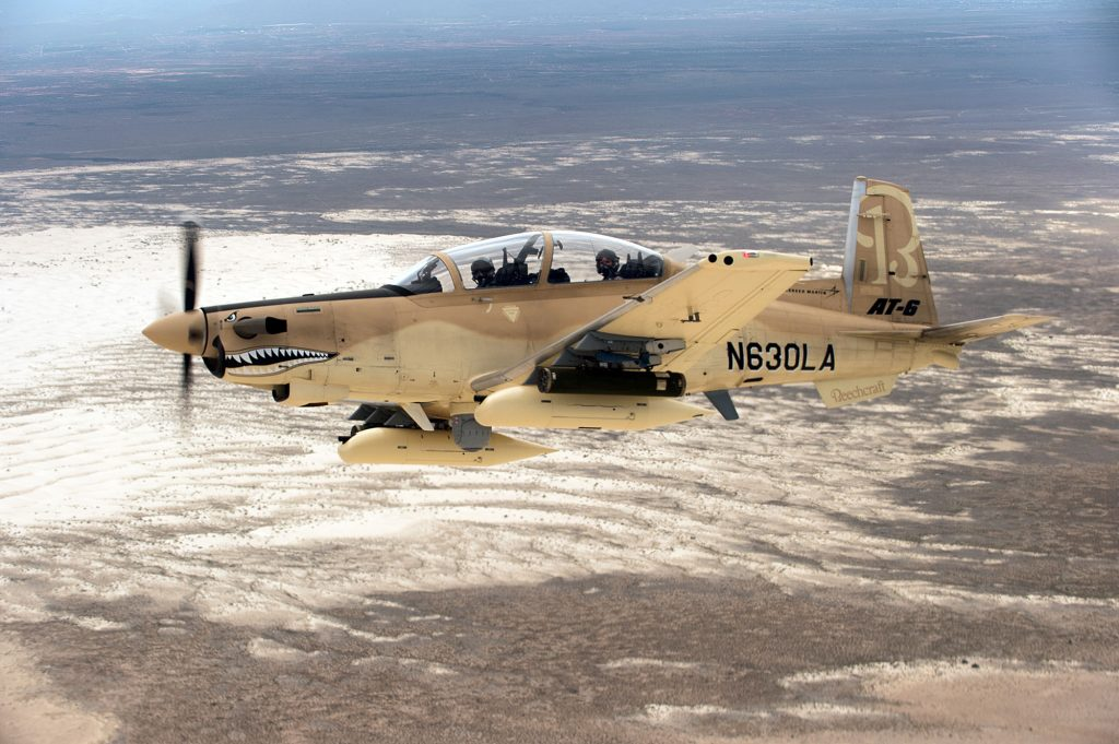 Beechcraft AT-6 Wolverine