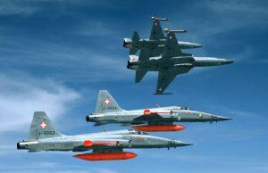 Northrop F-5E da Força Aérea Suíça