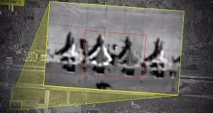 Imagem de satélite mostra dois caças Su-57 na Síria