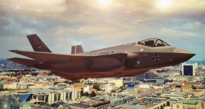 Conceito do F-35 nas cores da Luftwaffe