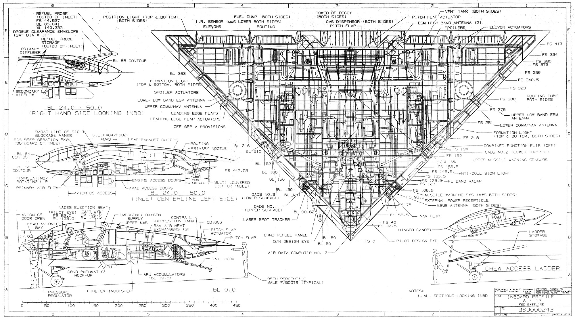 A saga do A-12 Avenger II da McDonnell Douglas/General Dynamics