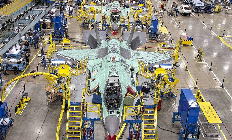 Linha de produção do F-35