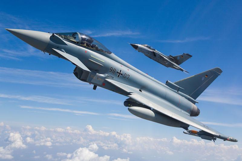 Eurofighter e Tornado da Luftwaffe