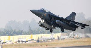 Caça Tejas da Força Aérea Indiana
