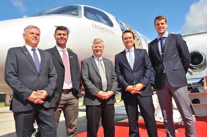 Embraer seleciona banda Ka da Viasat para a conectividade de alta velocidade e capacidade nos jatos Legacy 450 e Legacy 500