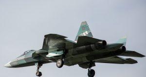 Su-57 testando novo motor