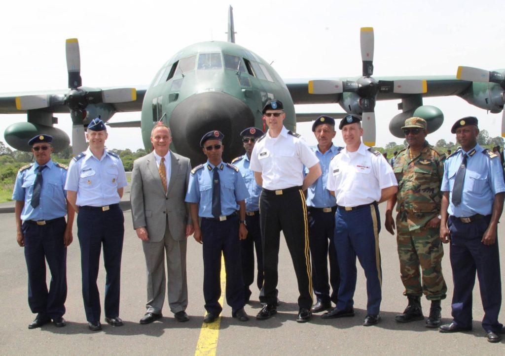 C-130 Hercules doado pelos EUA à Etiópia