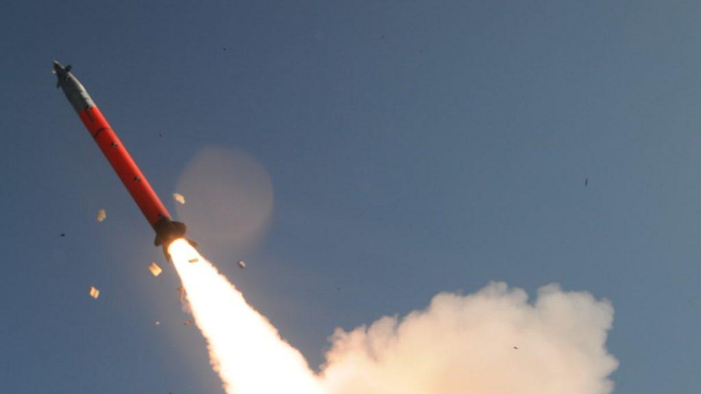 IMI EXTRA (EXtended Range Artillery Rocket) 306mm artillery rocket system