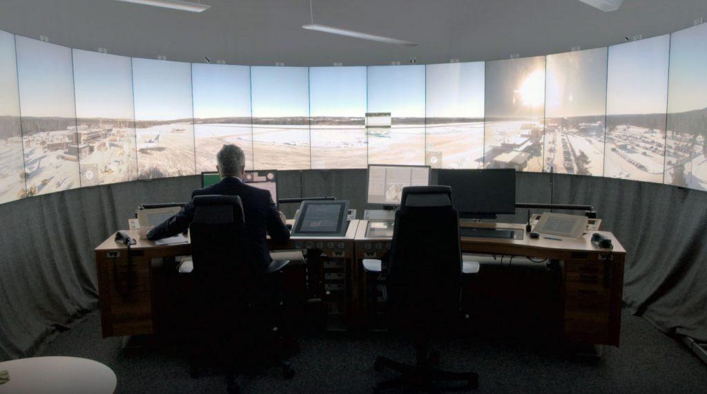 Torre de Controle Remota da Saab