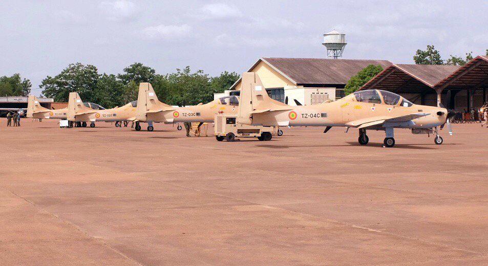 A-29 Super Tucano do Mali