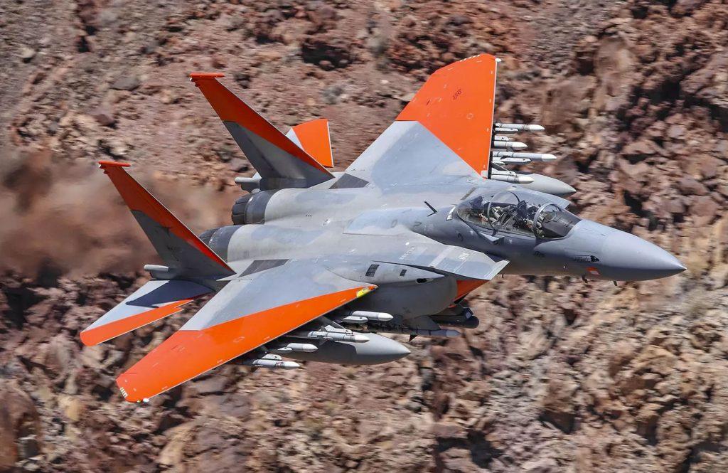 O F-15X será mais avançado e mais armado que este F-15SA da Arábia Saudita