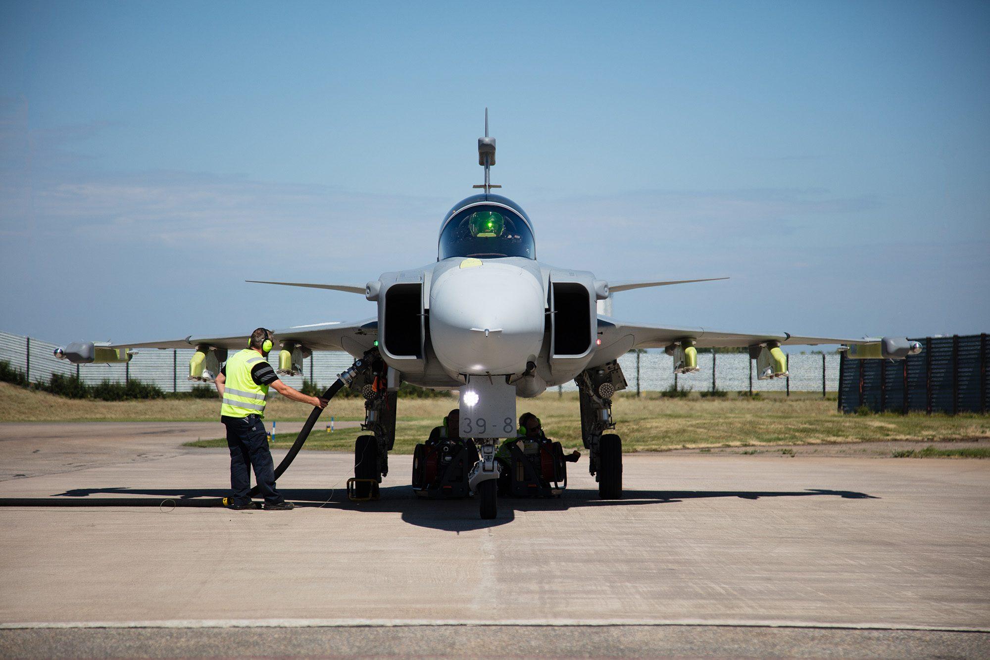 Saab Gripen E 39-8