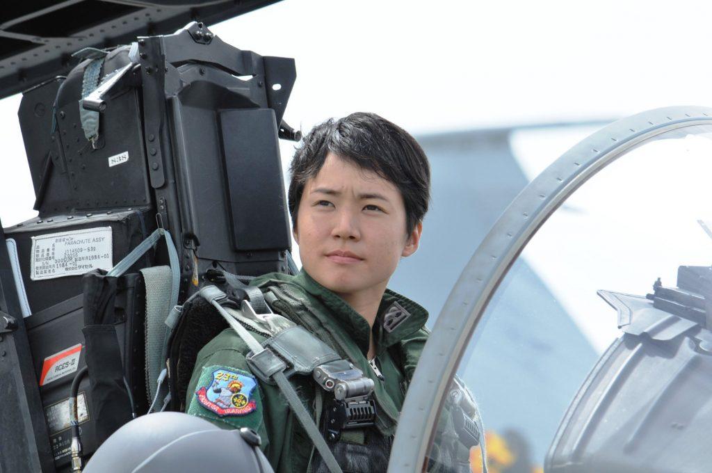 A primeiro-tenente Misa Matsushima