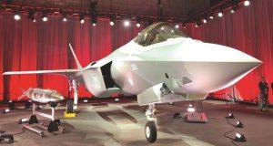 F-35 da Turquia na cerimônia de entrega nos EUA