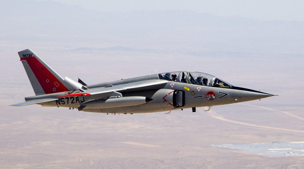 Alpha Jet da MTSI