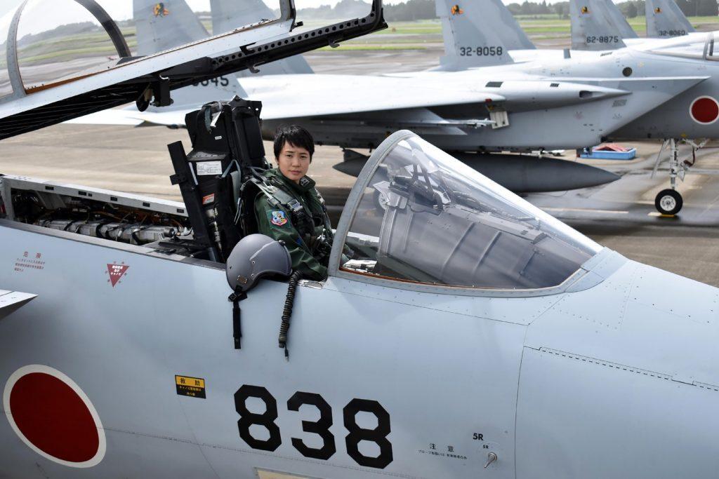 Misa Matsushima no seu F-15