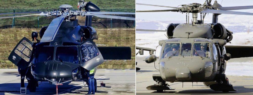 Z-20 e UH-60